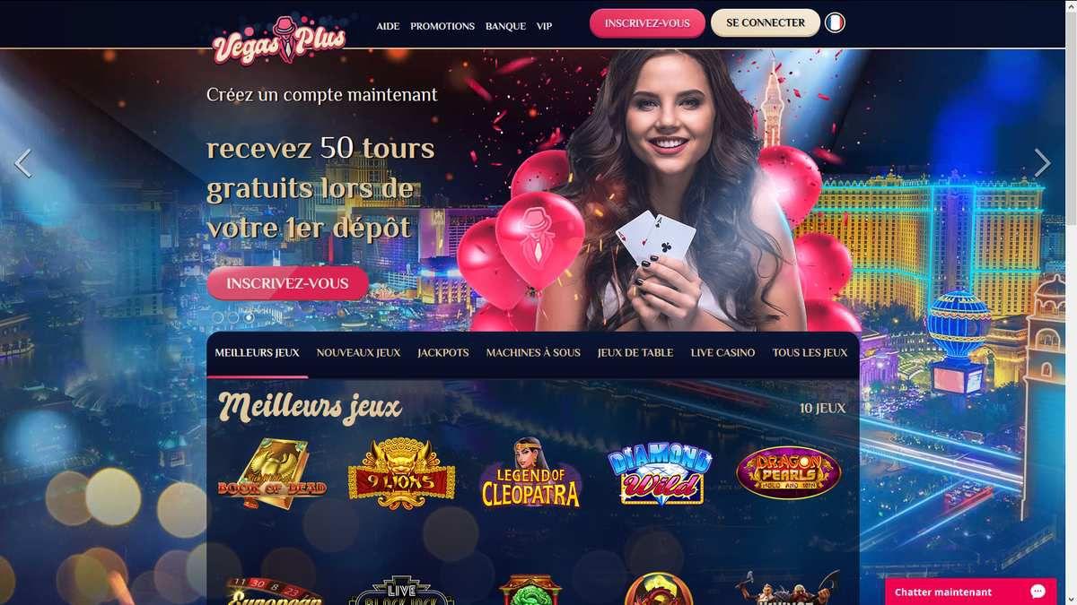 casino en ligne mobile Vegas Plus