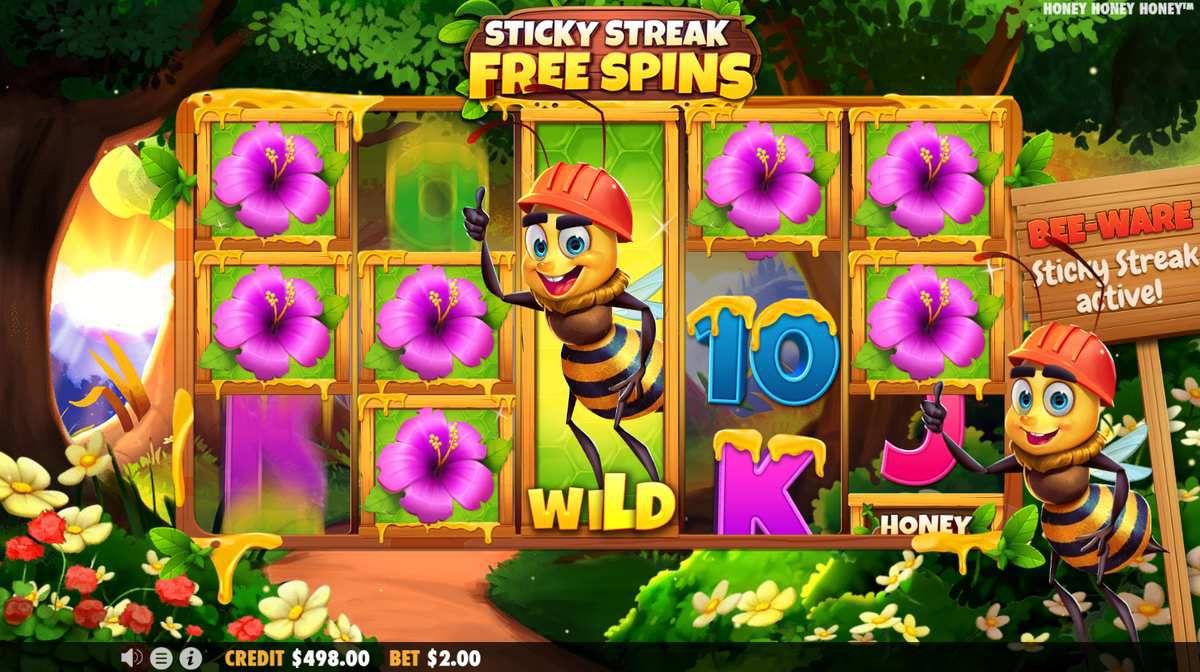 machine à sous mobile Honey Honey Honey tours gratuits