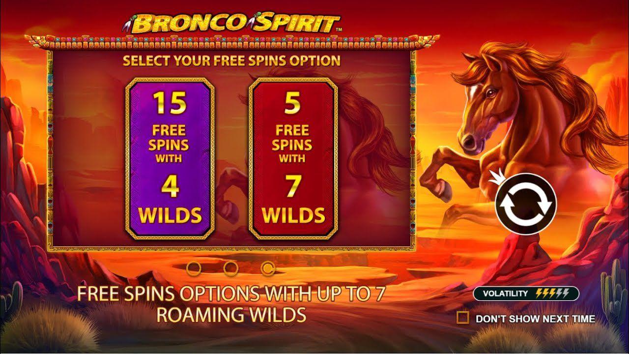machine a sous mobile Bronco Spirit tours gratuits