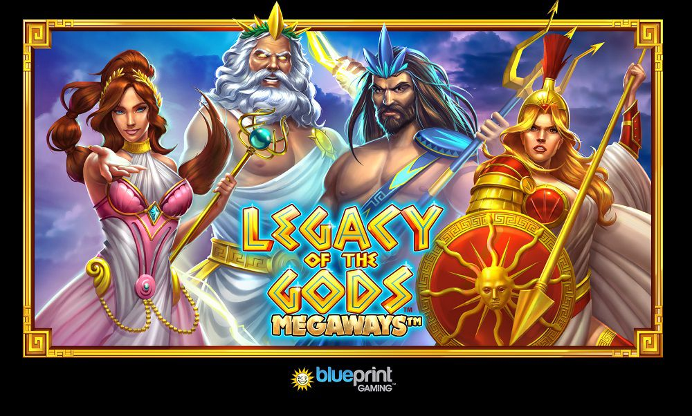machine à sous smartphones et tablettes Legacy of the Gods Megaways développeur Blueprint Gaming