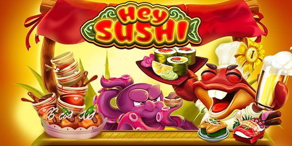 machine à sous mobile Hey Sushi développeur Habanero