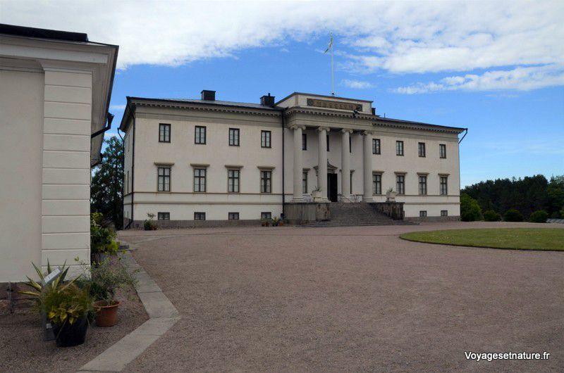 Château de Sjarnsund au nord du Vattern