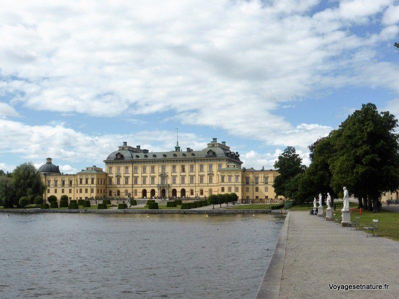 Château de Drottningholm (résidence royale)