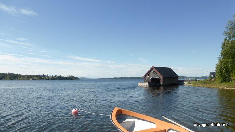 Fjarden (fjord) à Silviken