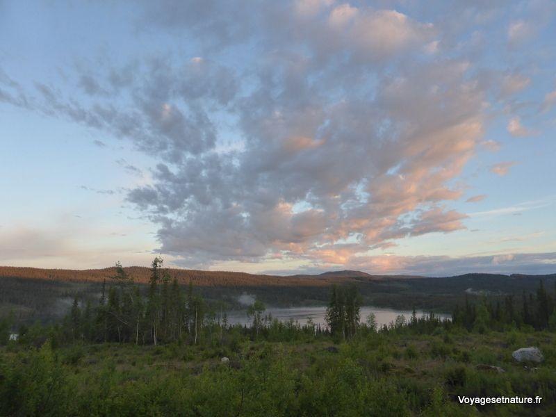 Nuit blanche en Laponie