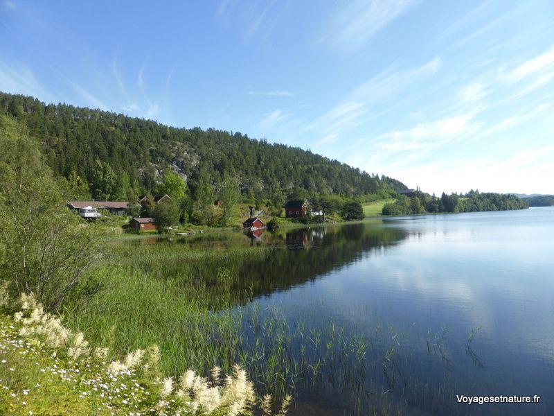 Autour du fjord de Trondheim