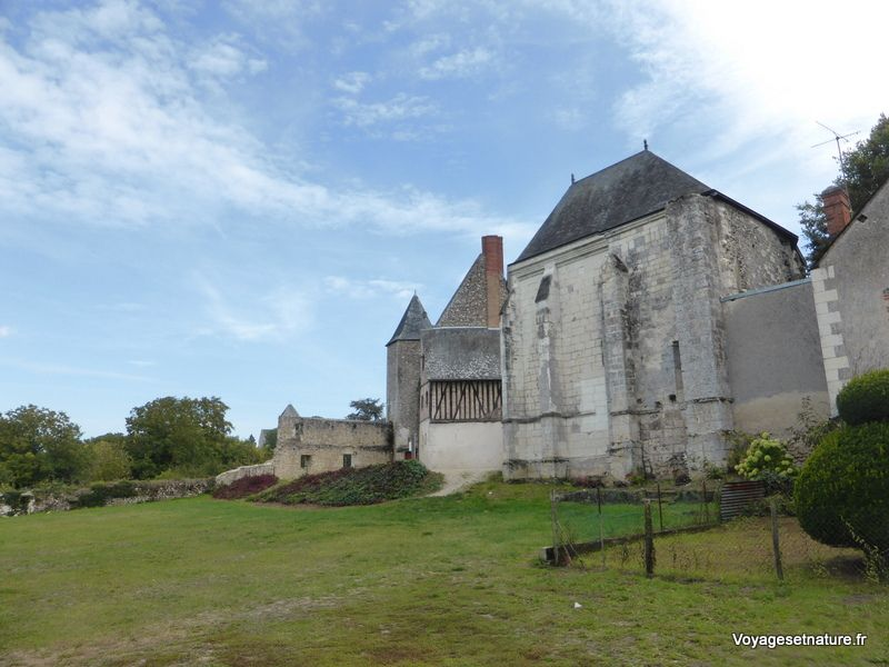 Village et ancienne abbaye de Cormery (37)