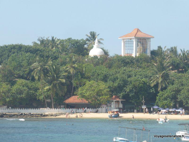 La côte sud du Sri-Lanka