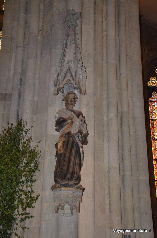 L'ange au sourire dans la cathédrale St-Pierre