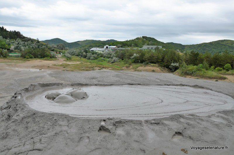 Les volcans de boue de Roumanie