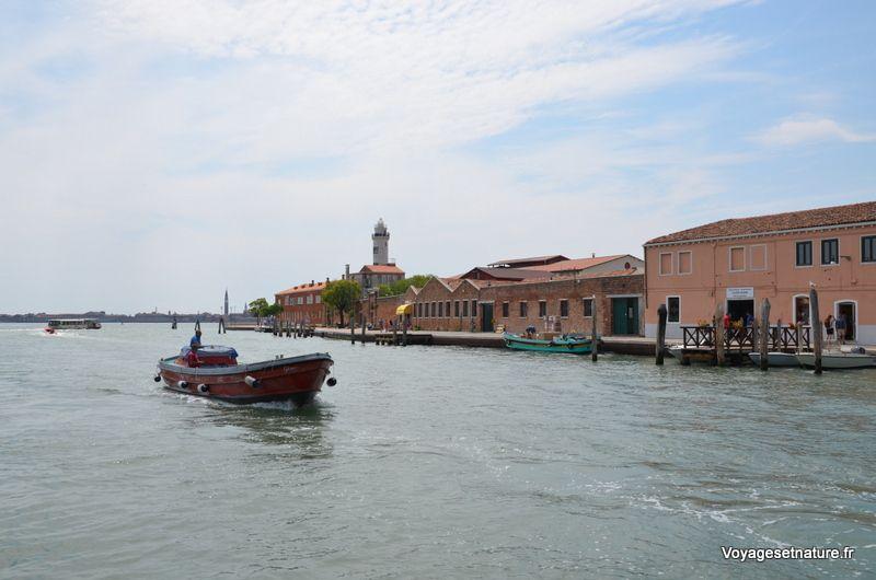 Balade sur l'île de Murano