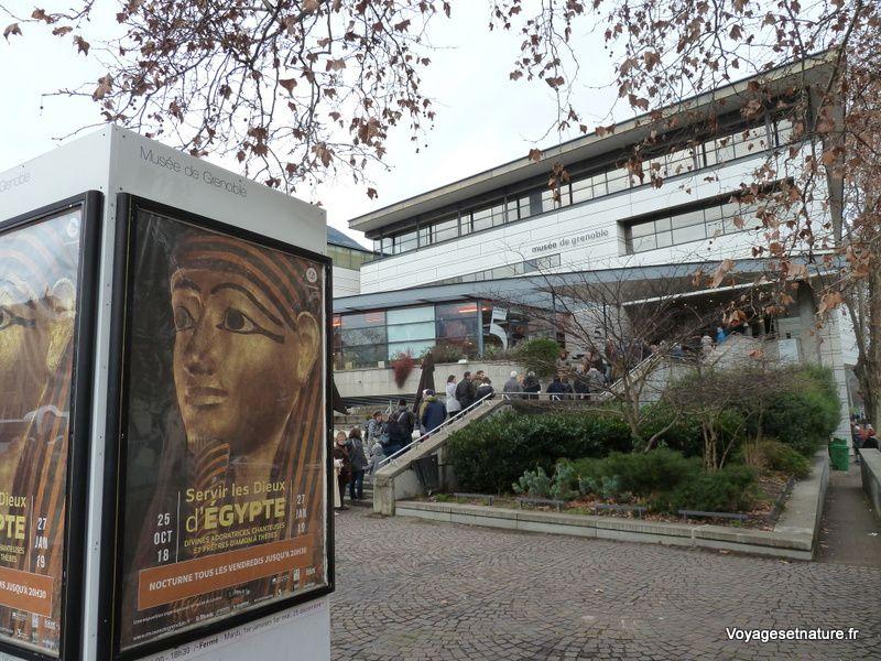 Servir les dieux d'Egypte au musée de Grenoble