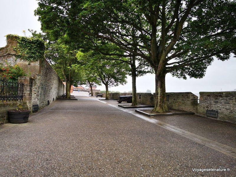 Visite de la cité fortifiée de Derry