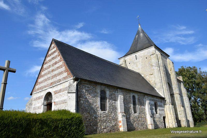 L'église de St-Jean d'Abbetot (76)