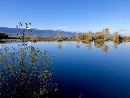 Découverte du reservoir fédéral de Chênex