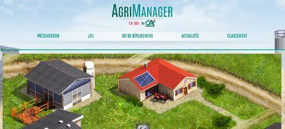 Crédit Agricole lance son serious game : AgriManager
