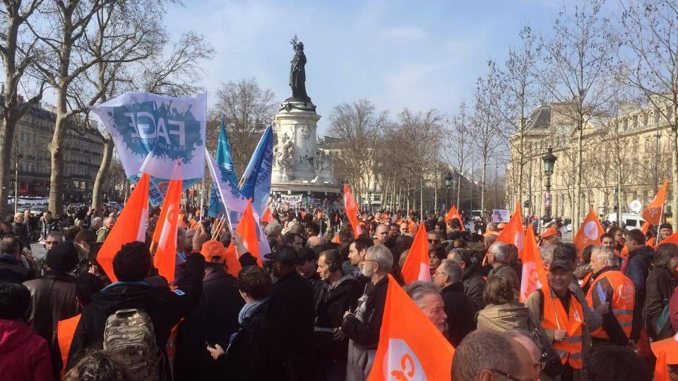 Avant-projet de loi El Khomri : rassemblés et déterminés