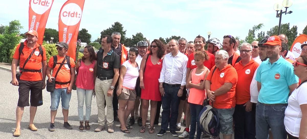 [Vidéo] En Languedoc-Roussillon, la CFDT pédale pour l'emploi