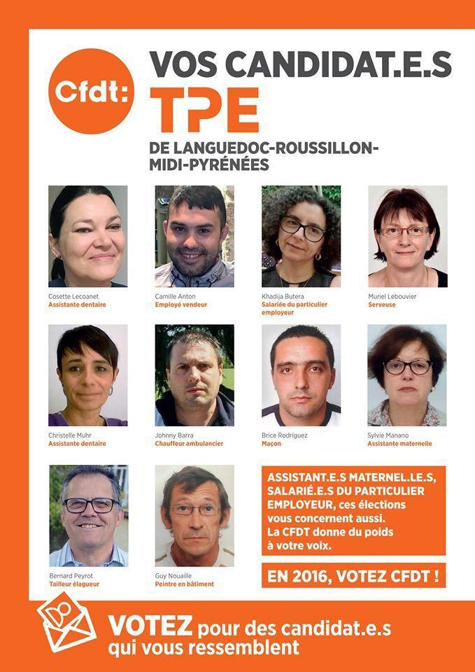 Elections TPE CFDT - Pourquoi voter aux élections TPE ?