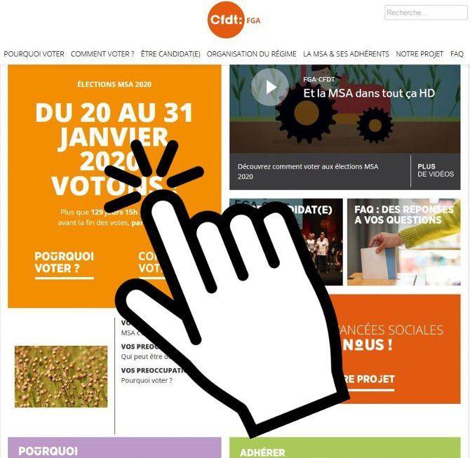 Elections MSA 2020 : la FGA lance un site dédié !