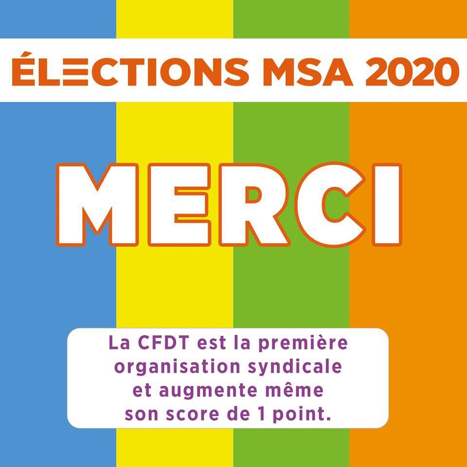 Résultats des élections MSA 2020 : Languedoc et Grand Sud