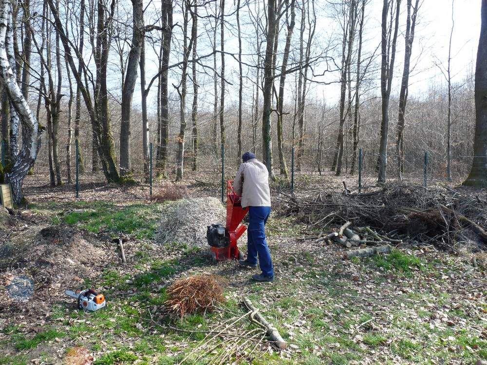 """Grand nettoyage de printemps au """"Jardin de Michel"""""""