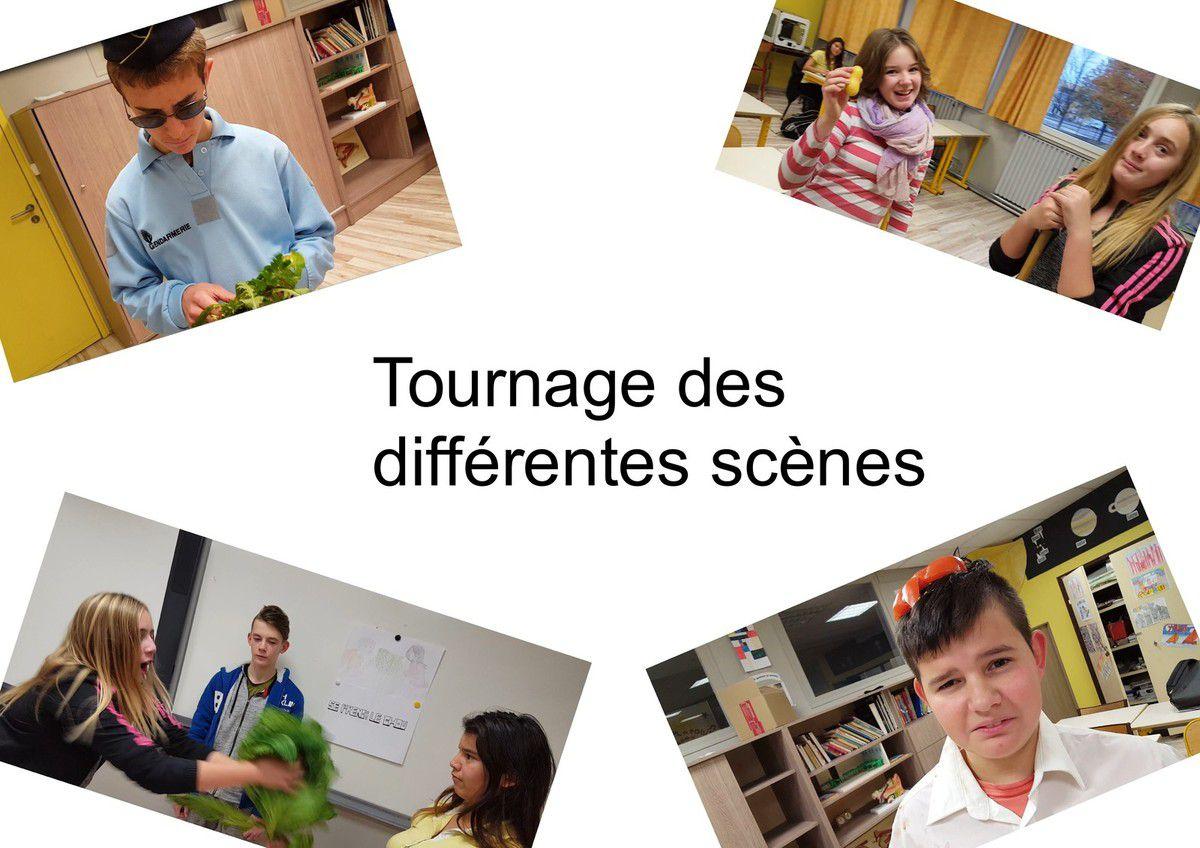 La classe de 4e a présenté sa vidéo au Musée de l'image d'Epinal