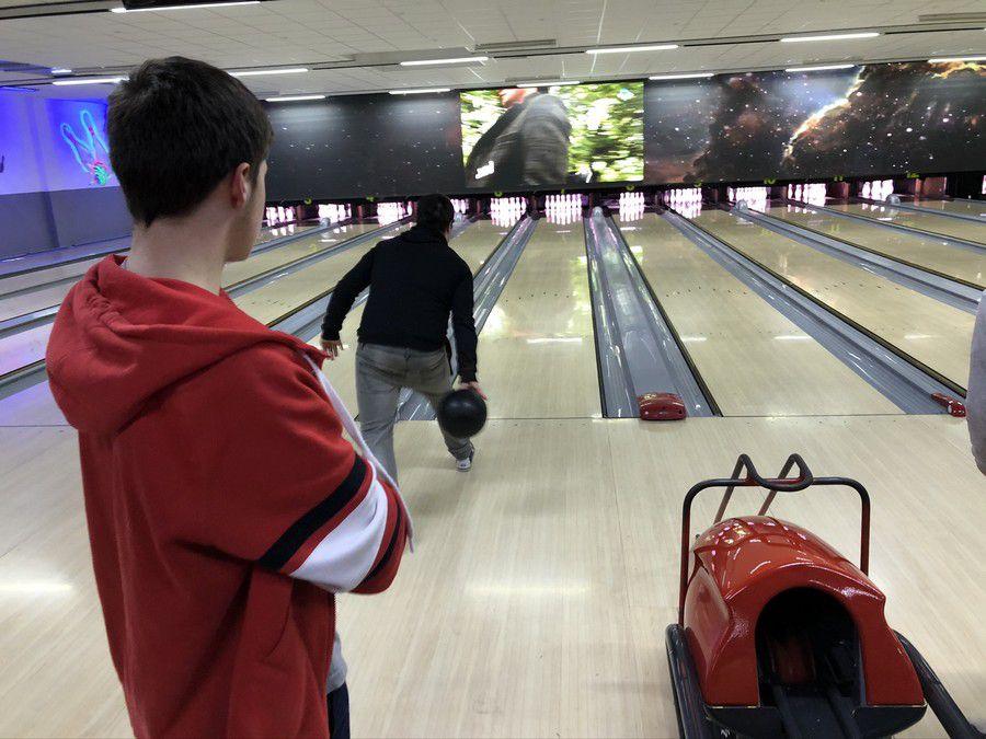 Un petit Bowling avant les vacances !