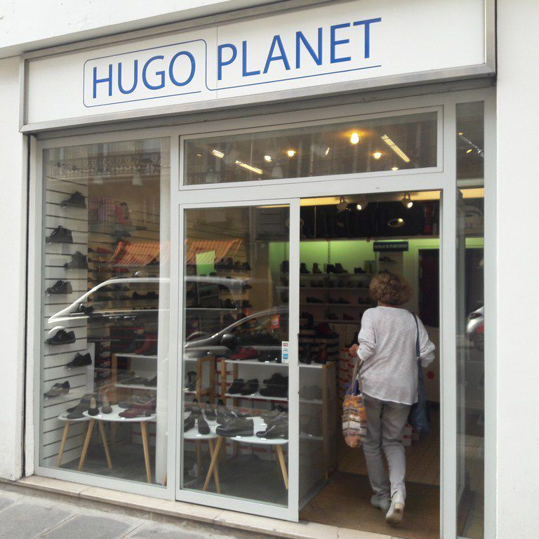Magasin de chaussures confort à Paris