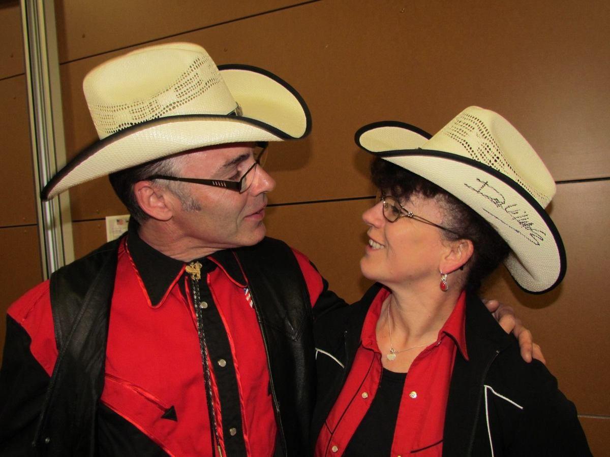 Martine et Thierry au bal des 100 Tiags