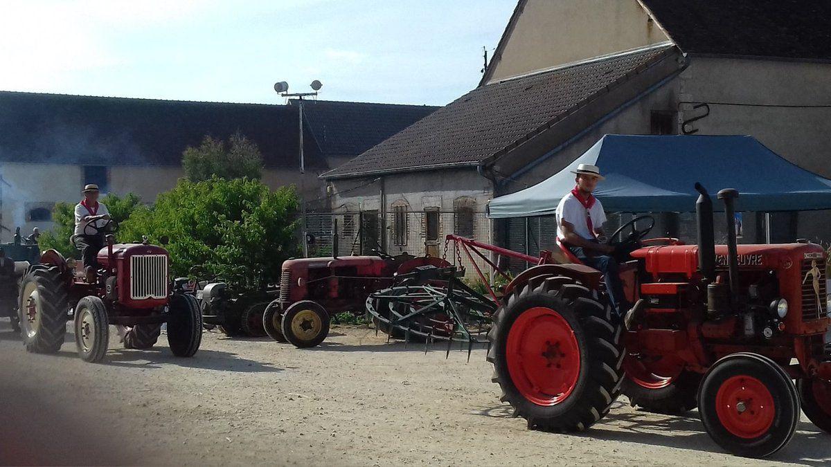 Medley vidéos et photos démo Cowboy Country 45 le 3 aout 2019 St Maurice sur Aveyron