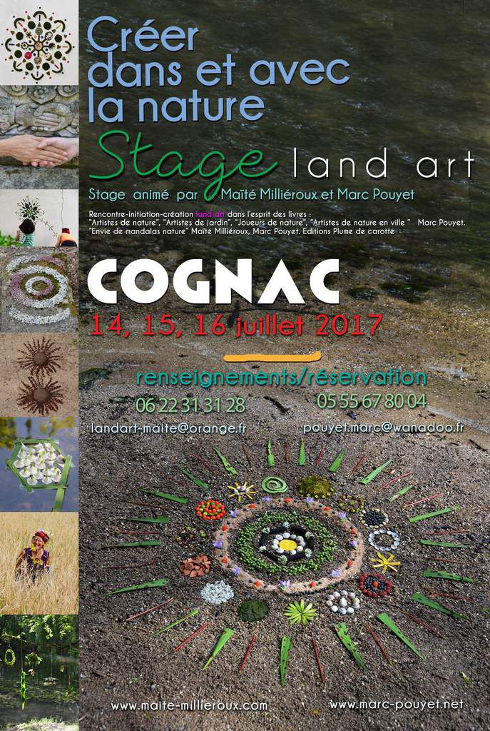 Stage land art d'été