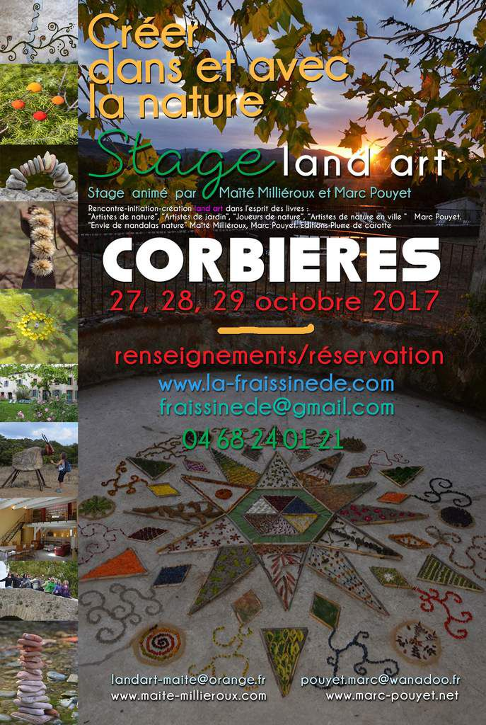 stage land art d'automne