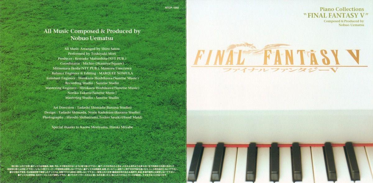 Final Fantasy V - Piano Collections [Album][mp3][FF5][OST]