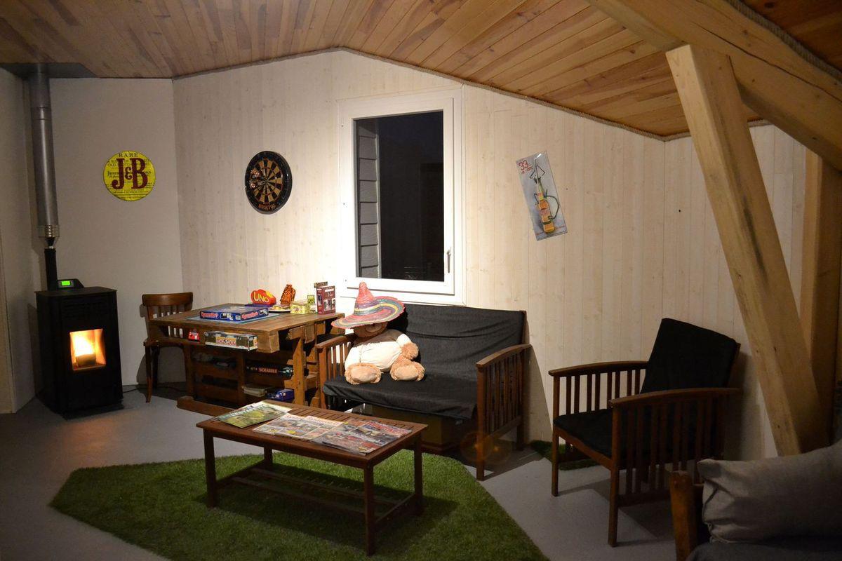 La chambre d'hôtes L'Arbrassous à Usclades-et-Rieutord en Ardèche...