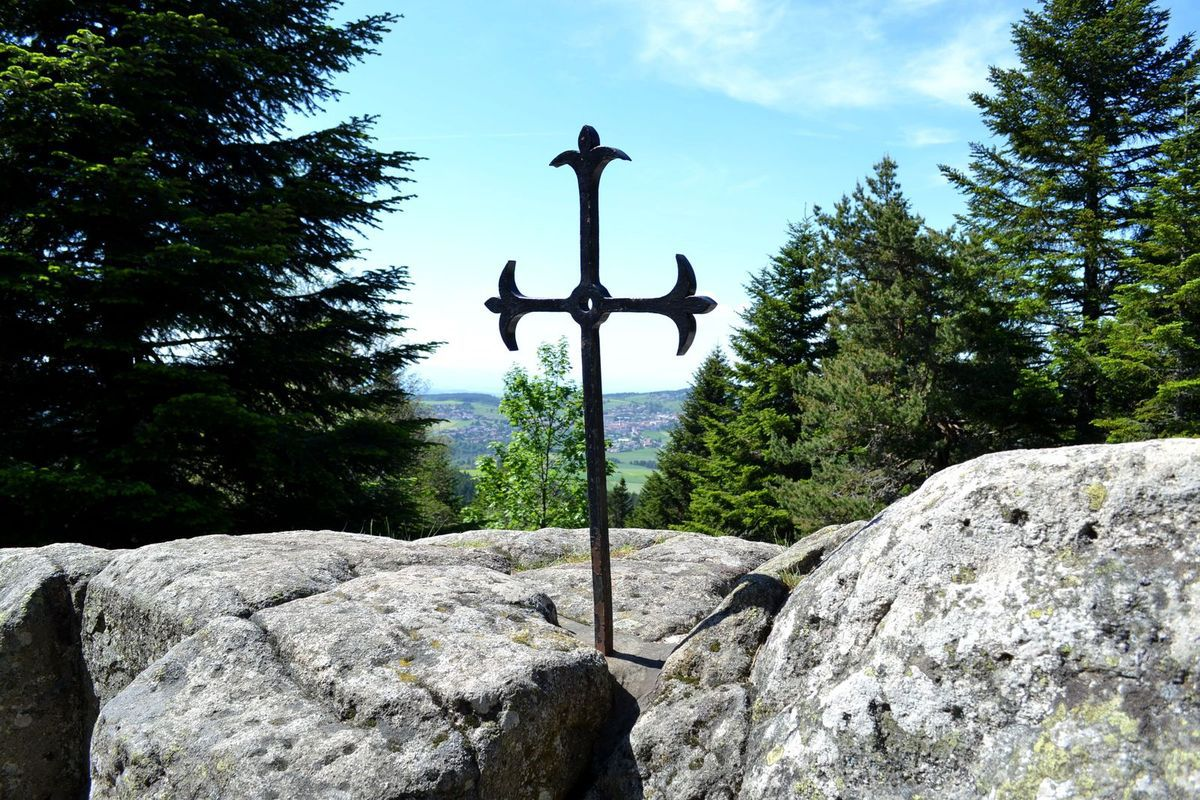 La pierre Saint-Martin...