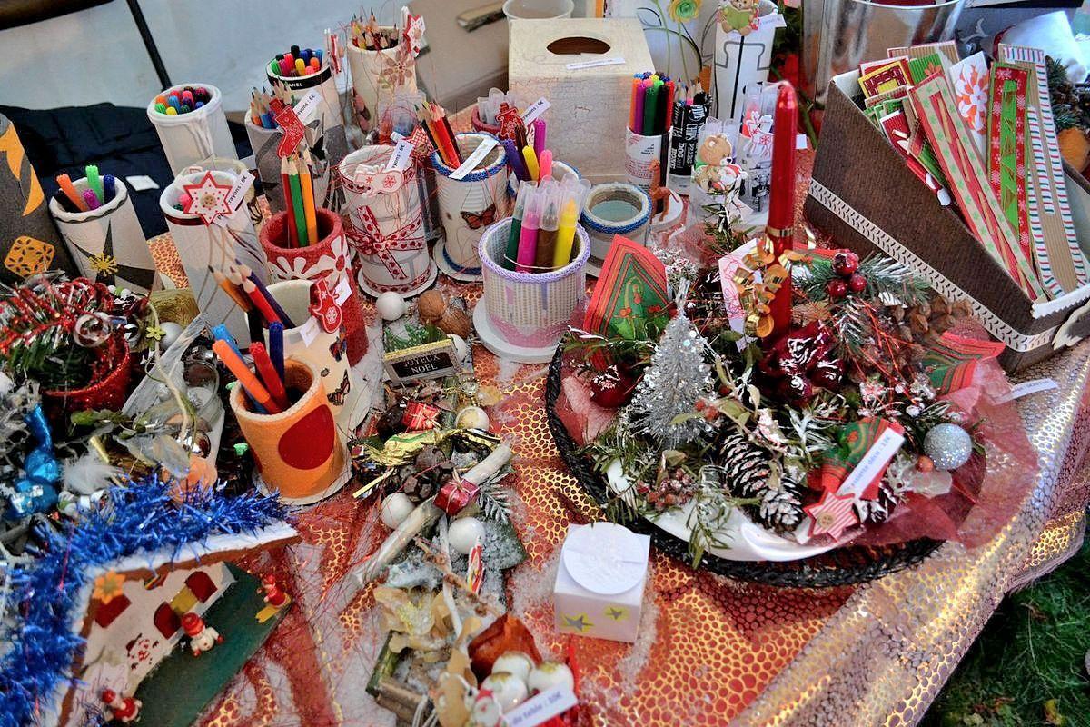 Le sublime marché de Noël de Marols dans la Loire...