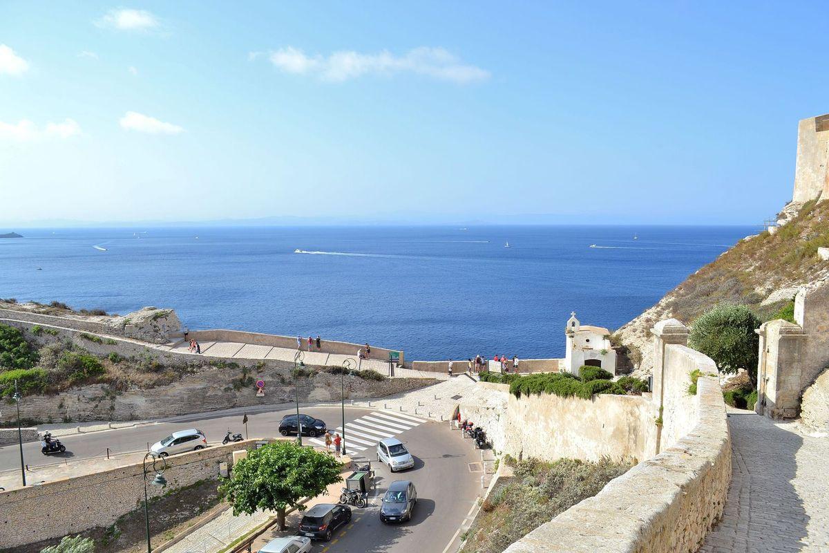 A l'assaut de la citadelle de Bonifacio!