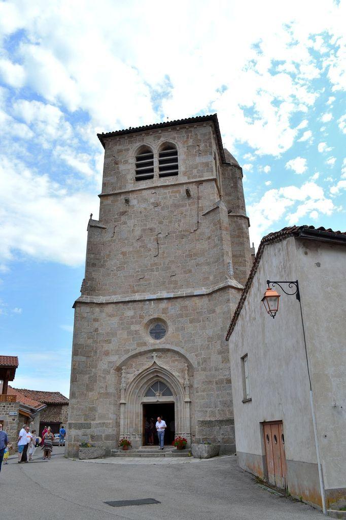 L'ancienne église de Sauvain...