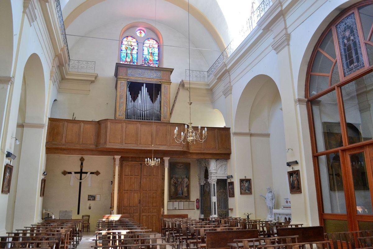 L'église Saint-Damien de Sartène...