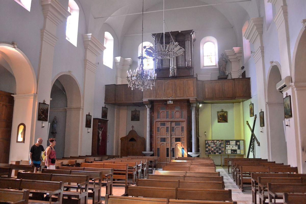 L'église Sainte-Marie de Sartène...