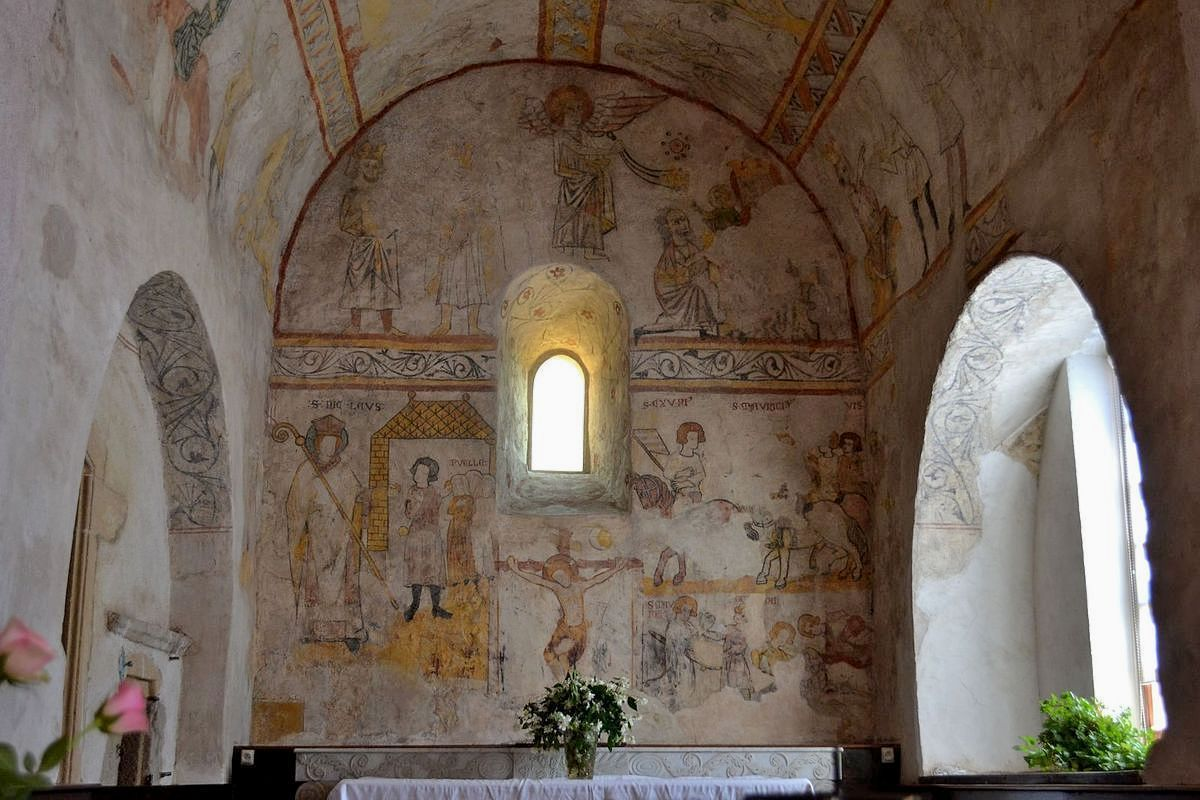 L'église de Saint-Jean-Saint-Maurice-sur-Loire...