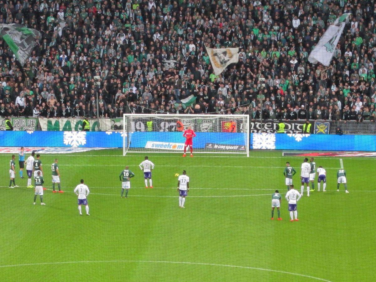 Deux matchs au top au stade Geoffroy Guichard!