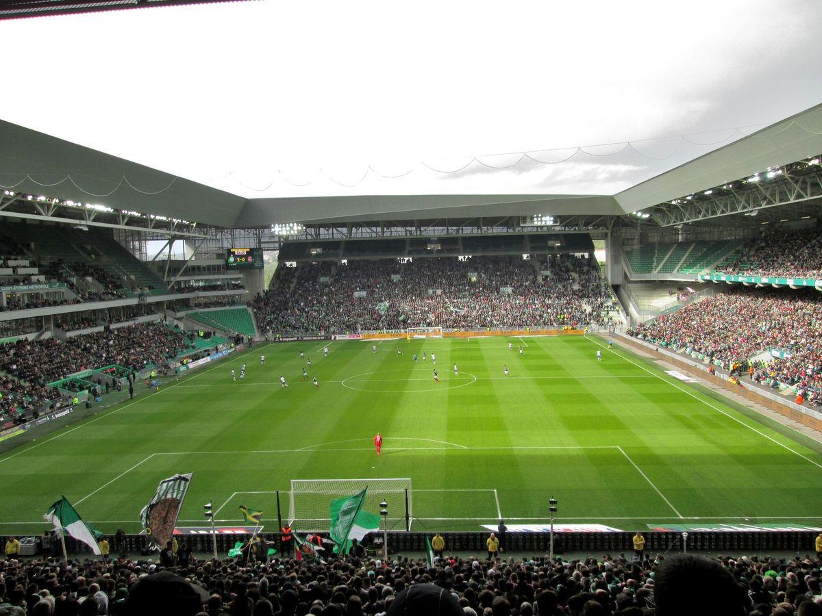 Après seulement 10 minutes de jeu, toujours contre Toulouse, les Verts mènent au score 2-0. Ce score ne changera pas jusqu'à la fin du match...