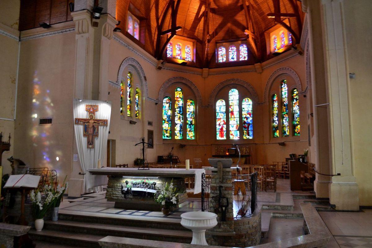 L'église Sainte-Jeanne-d'Arc du Touquet...