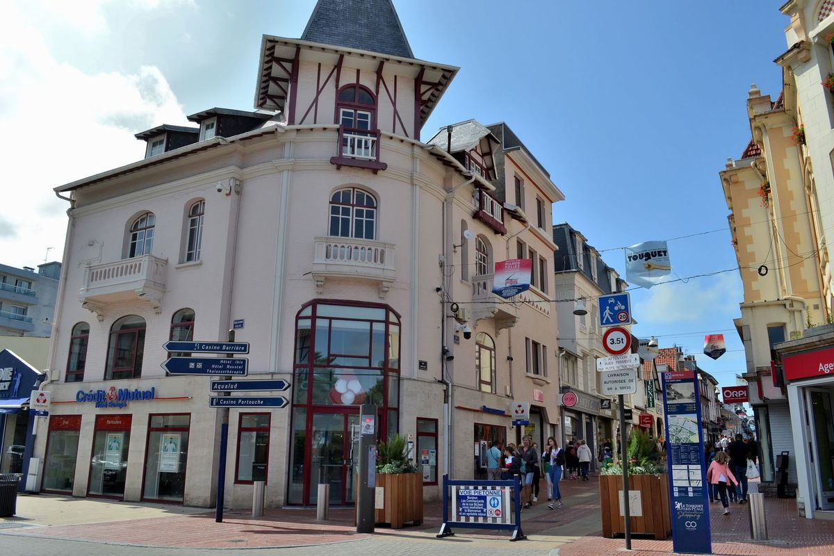 La rue Saint-Jean du Touquet...