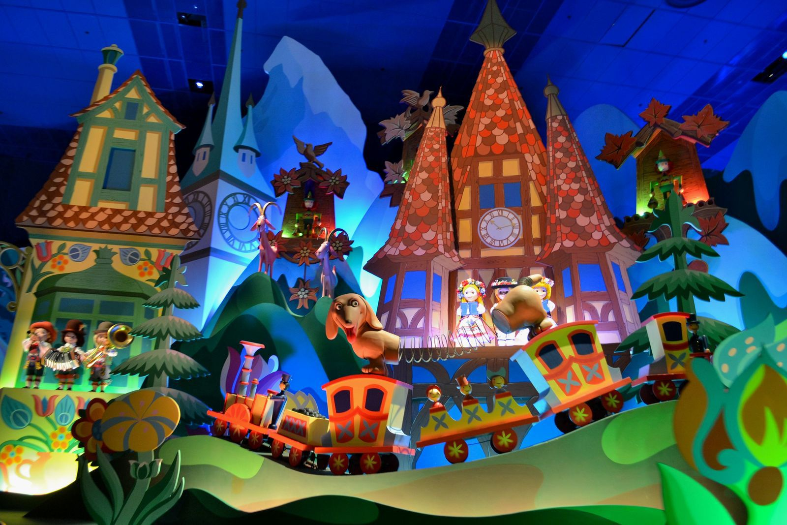 It's a Small World, after all...
