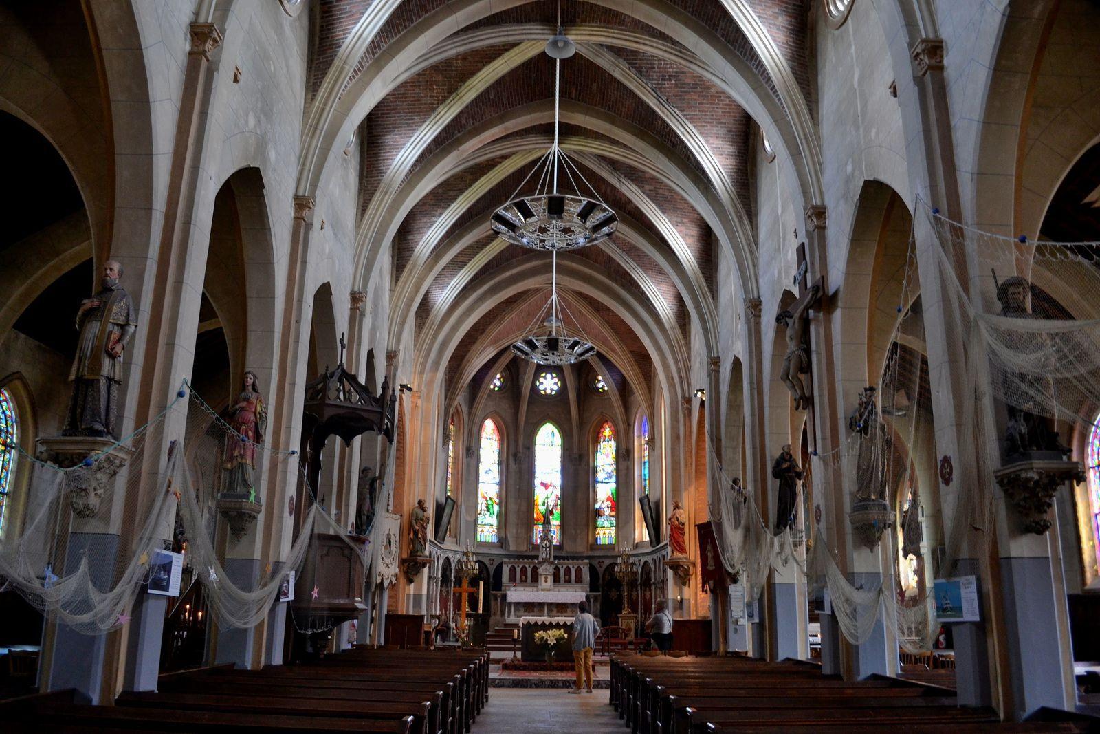 L'église Saint-Pierre du Crotoy...