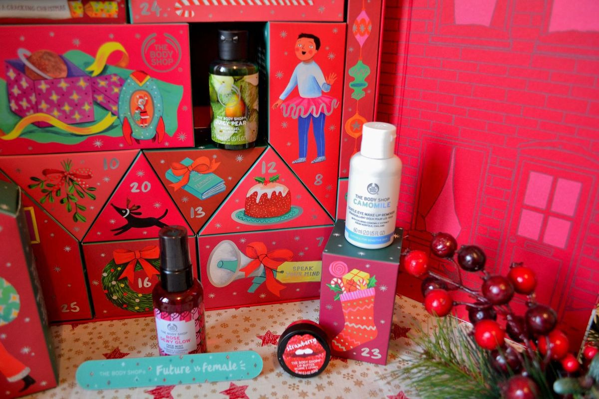 Le calendrier de l'avent THE BODY SHOP 2019!