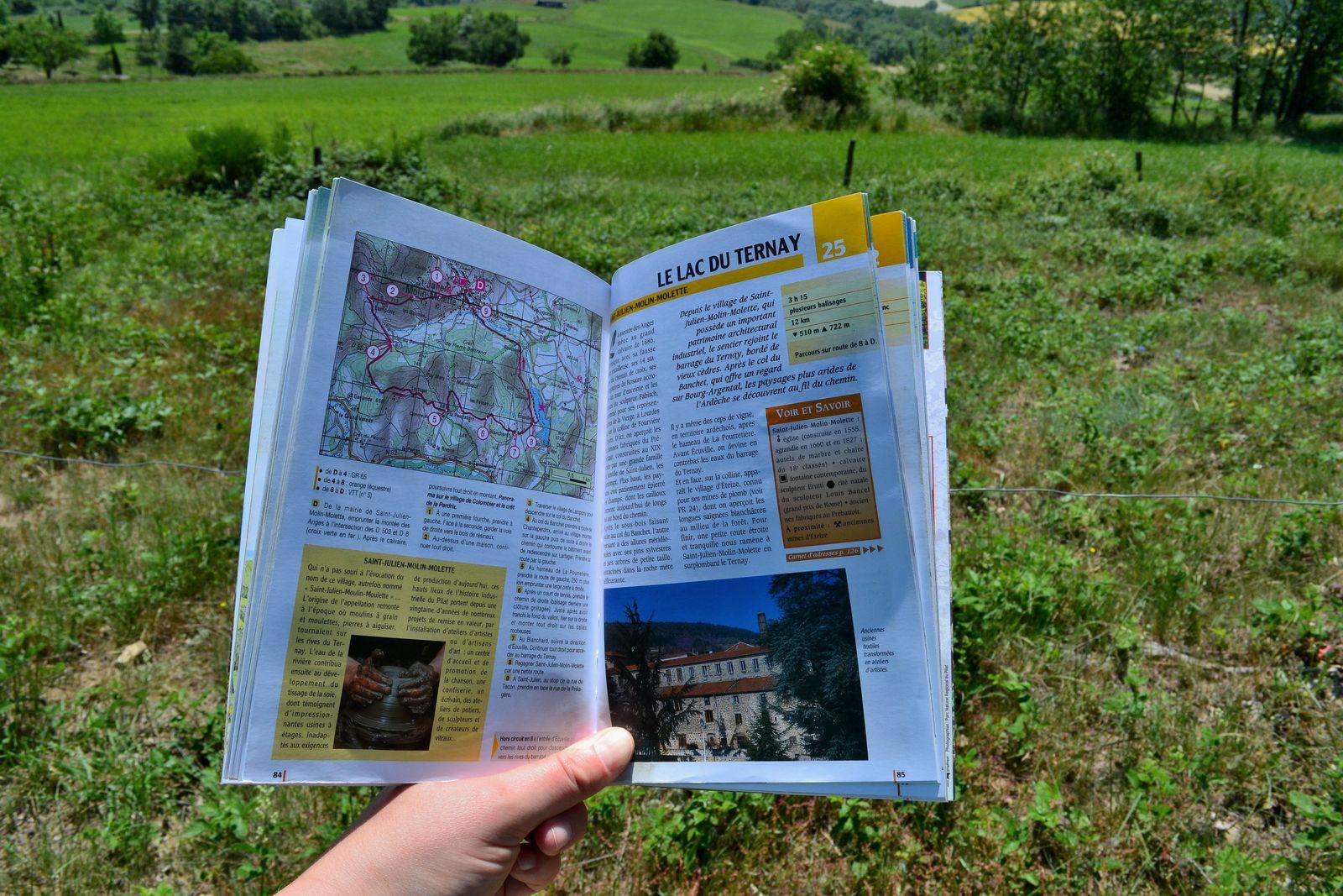 Grande balade dans la vallée de la Déôme dans le Massif du Pilat!